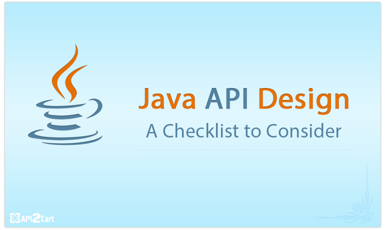 Java API Design