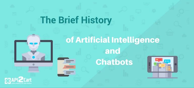 history of AI and chatbots