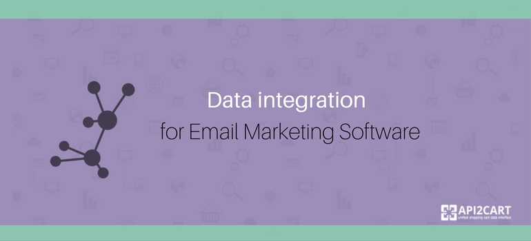 Data integration for email marketing software